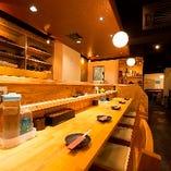 *:美食空間:* シンプルでスタイリッユな店内で上質な韓国料理を