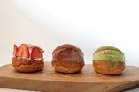 マリトッツォ(3種類)フルーツ・チョコ・抹茶