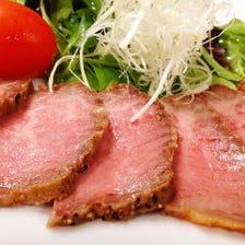 神戸牛のローストビーフ