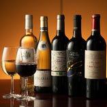 焼肉とワインは好相性。お好みのお肉とワインの組み合わせを見つけてみてはいかが♪