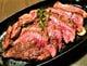 牛上ハラミ鉄板ステーキ