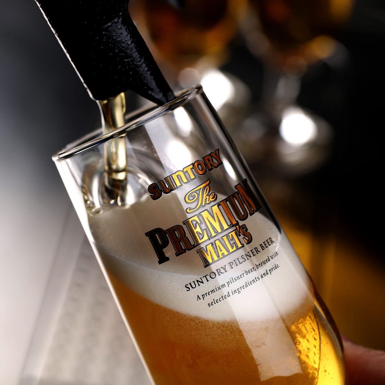 【約60種類飲み放題 2,000円/2H】超達人店認定ザ・プレミアムモルツやスパークリングワインなど約60種