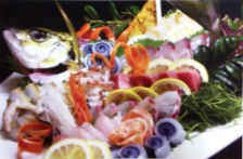 博多魚市場より厳選した魚介類
