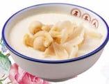 蓮の実と百合根入り中華風ミルクプリン