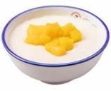 マンゴー入り中華風ミルクプリン