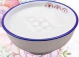 白玉入りアーモンドのお汁粉