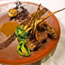 ◆厳選食材を使った絶品ジビエ料理