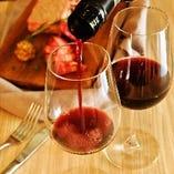 産地や銘柄にこだわった世界各国のワインを取り揃えております。