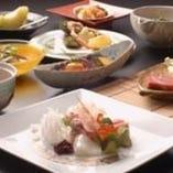 季節料理(内容は時期により異なります)5,250円(要予約)
