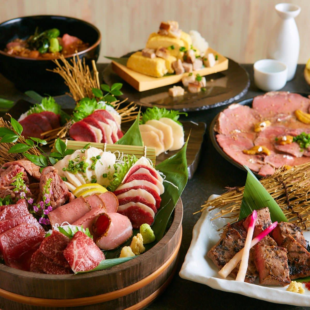 【創作肉和食】 料理長こだわりの肉和食をお楽しみください!
