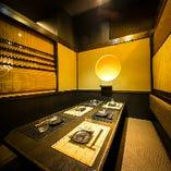 【仙台×全席個室】 落ち着いた雰囲気の和モダンな店内は宴会に