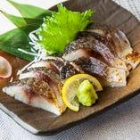 金華〆鯖の炙り