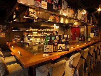 広島鉄板居酒屋 鉄板ベイビー 笹塚本店  店内の画像