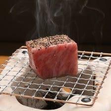 鹿児島県黒毛和牛ロース塊炭火焼