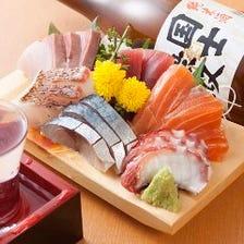 豊富な海鮮料理