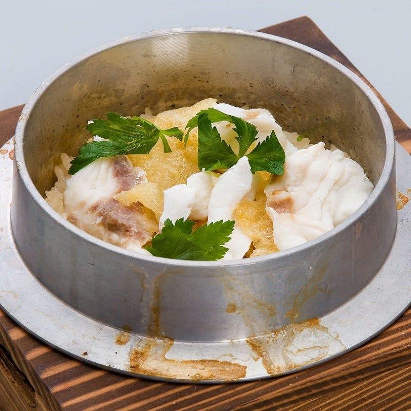 ◆炊き立ての釜飯を堪能