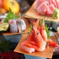 新潟を味わう会席料理の数々