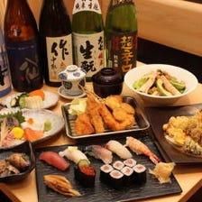 厳選した三重地酒と全国の日本酒