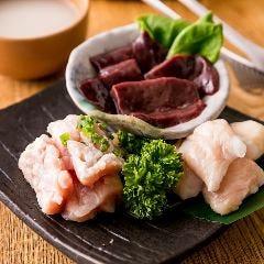 ホルモン3種盛合せ(塩/タレ/ピリ辛)