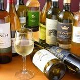 四川料理と香りの相性のよいワイン各種を取り揃えております