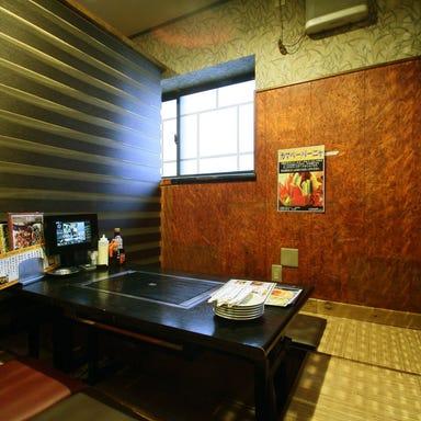 宴会個室・お好み焼き ジュウジュー東五所本店 店内の画像