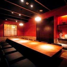 「和」の個室は全20室2~40名様☆