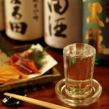 ■豊富な日本酒■ 世界一の利酒師が選定した様々なお酒。