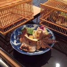 日本料理を目や心で愛でる空間と共に