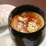 プラス200円で、豆乳蒸しプリンかコーヒーを追加できます!