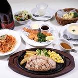 洋食宴会コース(飲み放題付き) 4,000円(税込み)