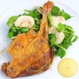 鴨もも肉のコンフィ(1人前)