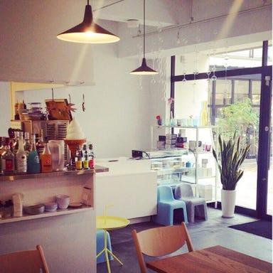 cafe tori  店内の画像