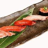 自社養殖の自慢の鮮魚を使用した逸品料理も多数ご用意!