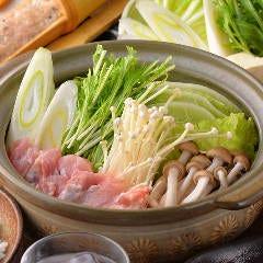 名古屋コーチン水炊き鍋