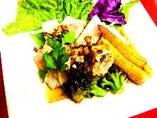 ・厳選!!鶏もも肉の香草焼き /・カジキマグロのレアステーキ~焦がしバター醤油~