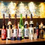 コースに+550円でプレミアム飲み放題☆豊富な日本酒が飲めます☆