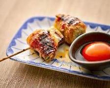 ◆種類豊富な博多串焼を楽しめる