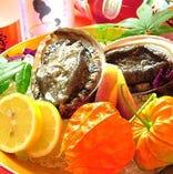 熊本・天草産の新鮮食材を使用しています。