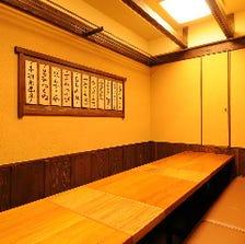 14名様~24名様の個室、あります!