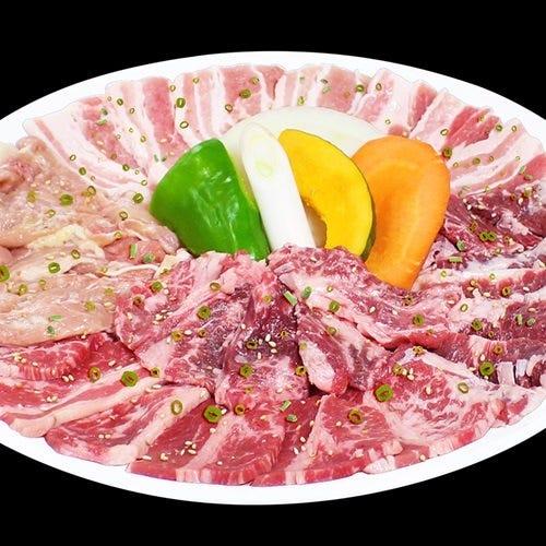 焼肉パーティーに◎美味しいお肉がお得に利用可能な盛合せ各種