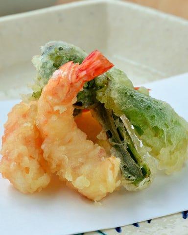 天ぷらと季節料理 二条たかくらやまもと コースの画像