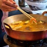 【天ぷら】 海老や季節の野菜など厳選素材の旨みを凝縮