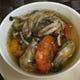 牡蠣とソフトシェルシュリンプのアヒージョ