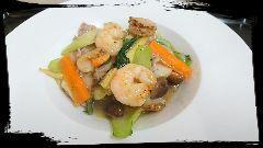 海老と帆立の海鮮八宝菜