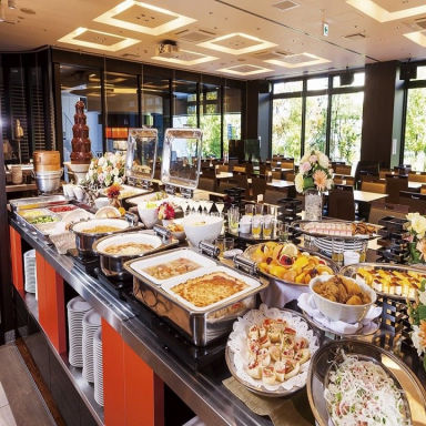 レストラン ラ・ベランダ アパホテル広島駅前大橋 こだわりの画像