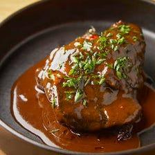 牛の頼肉の煮込 フルゴーニュスタイル