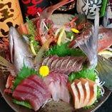 鮮魚の姿盛りが凄い!!事前注文承ります