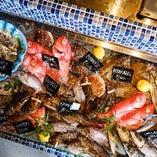 お好みの魚介を、お好みの調理法でお楽しみいただけます