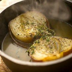 淡路たまねぎのとろとろ煮 ~プラス200yenでグラタンスープに~