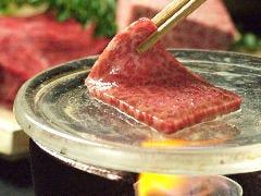 A5京都牛サーロインの焼きしゃぶ